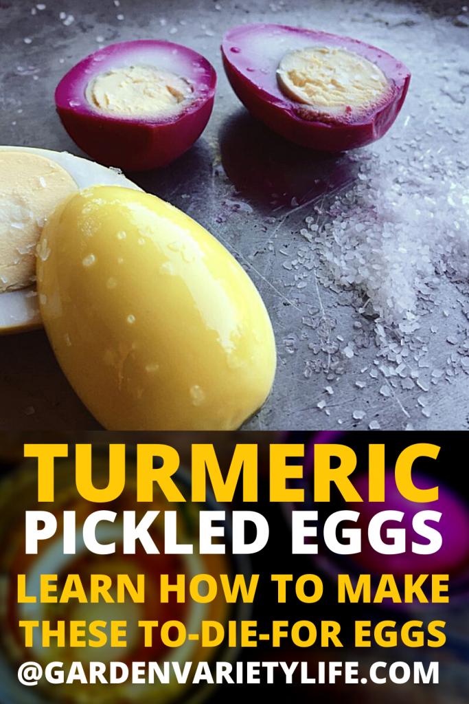turmeric pickled egg recipe
